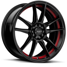 Ruff Racing - R364 - Satin Black w/ Red