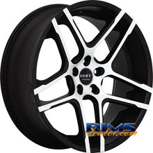 Ruff Racing - R954 - black flat w/ machined
