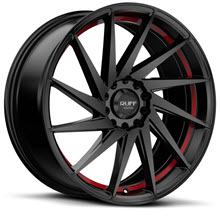 Ruff Racing - R363 - Satin Black w/ Red