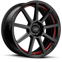 Ruff Racing - R366 - Satin Black w/ Red