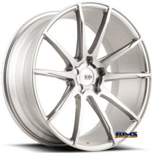 SAVINI WHEELS - BM-12 - Custom (Add $200ea. for painting)  - Silver Flat