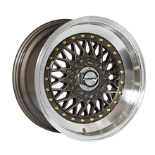SHIFT WHEELS - CLUTCH - Bronze w/ Machined