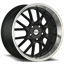 SHIFT WHEELS - CRANK (Polished Lip) - Black Gloss