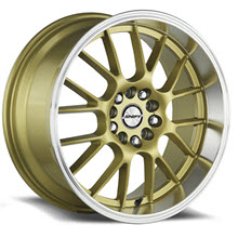 SHIFT WHEELS - CRANK - Machined w/ Gold