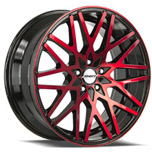 SHIFT WHEELS - FORMULA - Black Gloss w/ Red