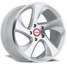 SHIFT WHEELS - STRUT - Machined w/ Silver