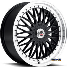 Spec 1 Wheels - SP-3 - black flat w/ machined