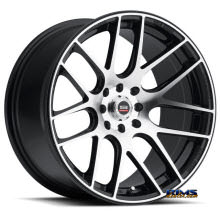 Spec 1 Wheels - SP-5 - black gloss w/ machined