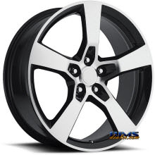 Vision Wheel - Sport Concepts 860 - black flat w/ machined