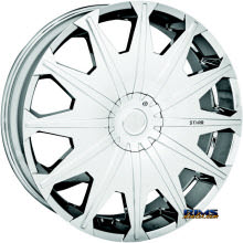 STARR ALLOY WHEEL - 276 SIG  - chrome