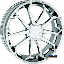 STARR ALLOY WHEEL - 308 LUPA - chrome