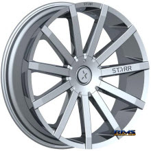 STARR ALLOY WHEEL - 222 MAYHEM - Chrome