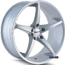 Touren Custom Wheels - TR70 3270 - Silver Flat
