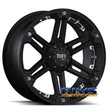 Tuff A.T Wheels - T01 - black w/ chrome cap