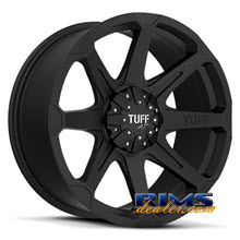 Tuff A.T Wheels - T05 - black flat