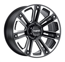 Tuff A.T Wheels - T22 - Black Milled