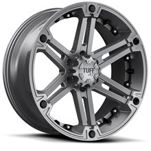 Tuff A.T Wheels - T01 - Gunmetal Gloss