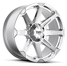Tuff A.T Wheels - T05 - Chrome