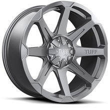 Tuff A.T Wheels - T05 - Gunmetal Gloss