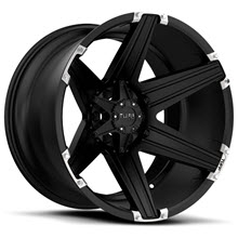 Tuff A.T Wheels - T12 - SATIN BLACK