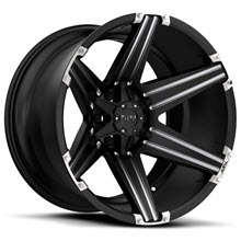 Tuff A.T Wheels - T12 - Black Milled
