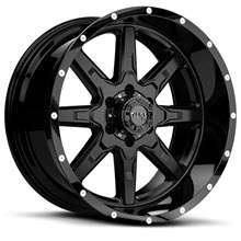 Tuff A.T Wheels - T15 - Black Milled