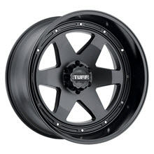 Tuff A.T Wheels - T1A (Gloss Lip) - Matte Black