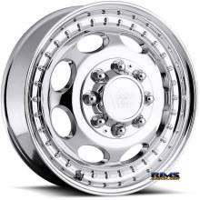 Vision Wheel - 181H Hauler Dually - chrome