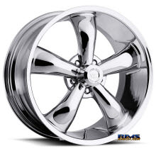 Vision Wheel - Vision 142 Legend 5 - machined w/ gunmetal