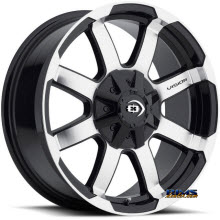 Vision Wheel - 413 Valor - black gloss w/ machined