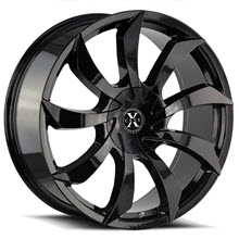 XCESS WHEELS - X01 - Black Gloss