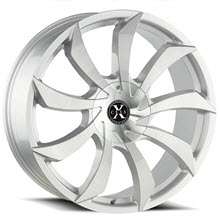 XCESS WHEELS - X01 - Machined w/ Silver