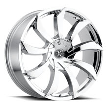 XCESS WHEELS - X01 - Chrome