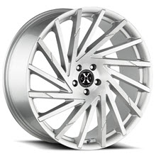 XCESS WHEELS - X02 - Machined w/ Silver