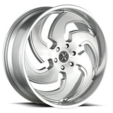 XCESS WHEELS - X03 - Machined w/ Silver