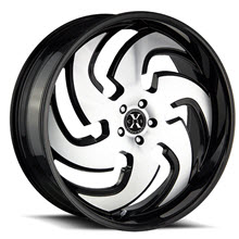 XCESS WHEELS - X03 - Black Gloss w/ Machined