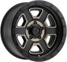 KMC XD Off-Road - XD133 - Satin - Black Flat w/ Machined
