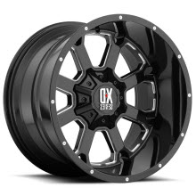 KMC XD Off-Road - XD825 Buck 25 - Black Milled