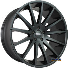 XIX Wheels - X39 - Black Flat