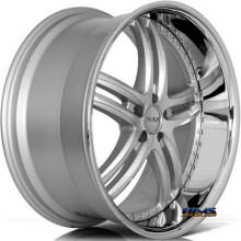 XIX Wheels - X15 - Machined W/ Silver