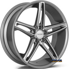 XIX Wheels - X33 - machined w/ gunmetal