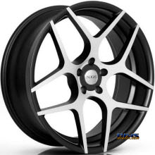 XIX Wheels - X35 - Black Flat w/ Machined