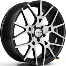 XIX Wheels - X37 - Black Flat w/ Machined