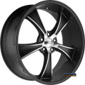 AMERICAN RACING - VN805 Blvd - Satin Black