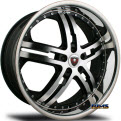 M6 _ Chrome Lip - machined w^ black