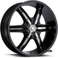 Vision Wheel - Milanni Bel-Air 6 460 - black flat