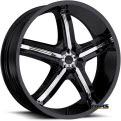 Vision Wheel - Bel-Air 5 459 - black flat