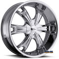 Vision Wheel - Milanni Stellar 452 - chrome