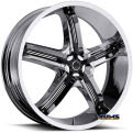 Vision Wheel - Milanni Bel-Air 5 459 - chrome