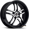 Vision Wheel - Milanni Kapri 9012 - black gloss